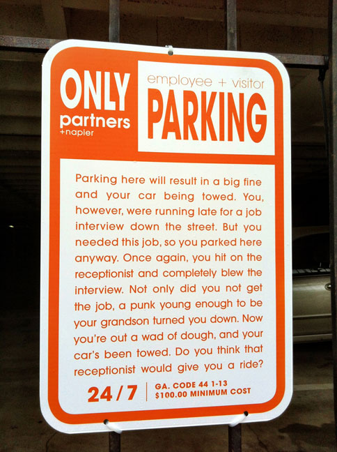Parking Notice job interview