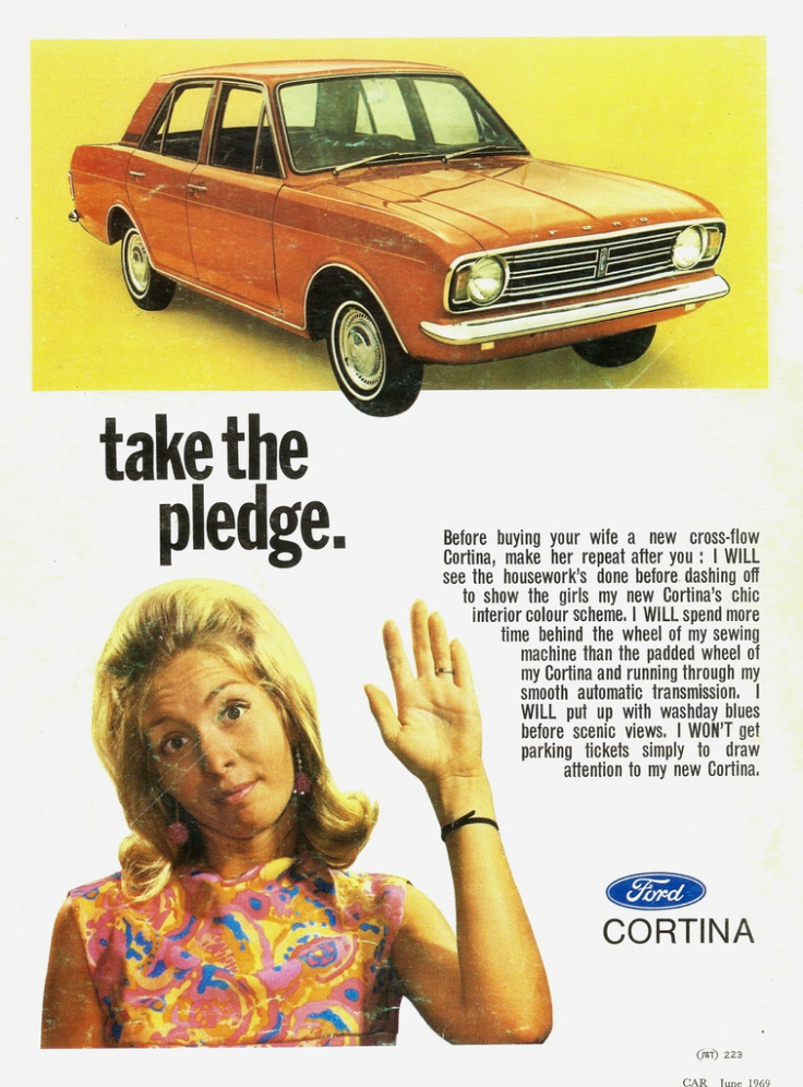 Ford Contina Sexist Ad